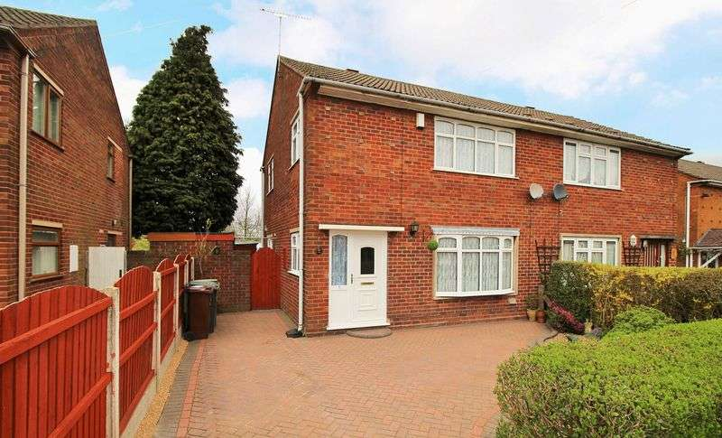 3 Bedrooms Semi Detached House for sale in Meldon Drive, Bilston