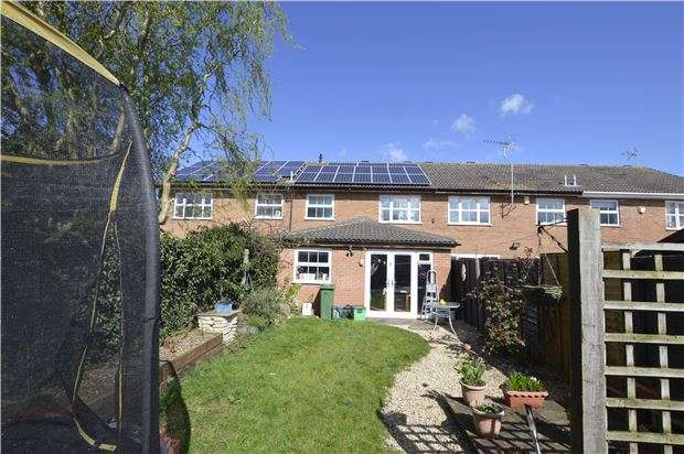 3 Bedrooms Terraced House for sale in Hazlitt Croft, CHELTENHAM, Gloucestershire, GL51 0PN