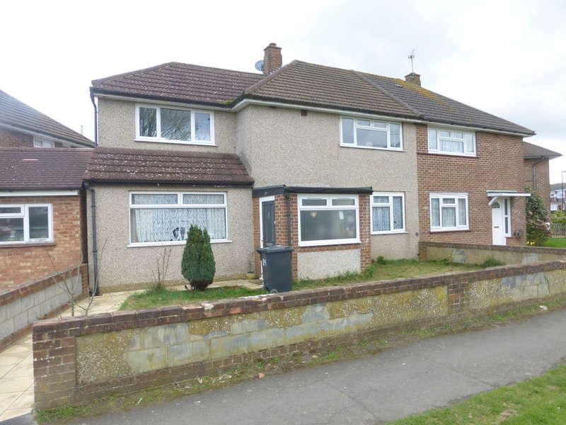 3 Bedrooms Semi Detached House for sale in North Downs Road, New Addington, Croydon, CR0 0LFE