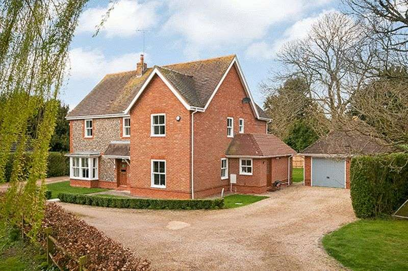 5 Bedrooms Detached House for sale in King's Somborne