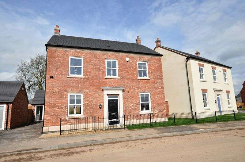 4 Bedrooms Detached House for sale in Plot 101 Off Burton Road, Tutbury (The Rolleston)