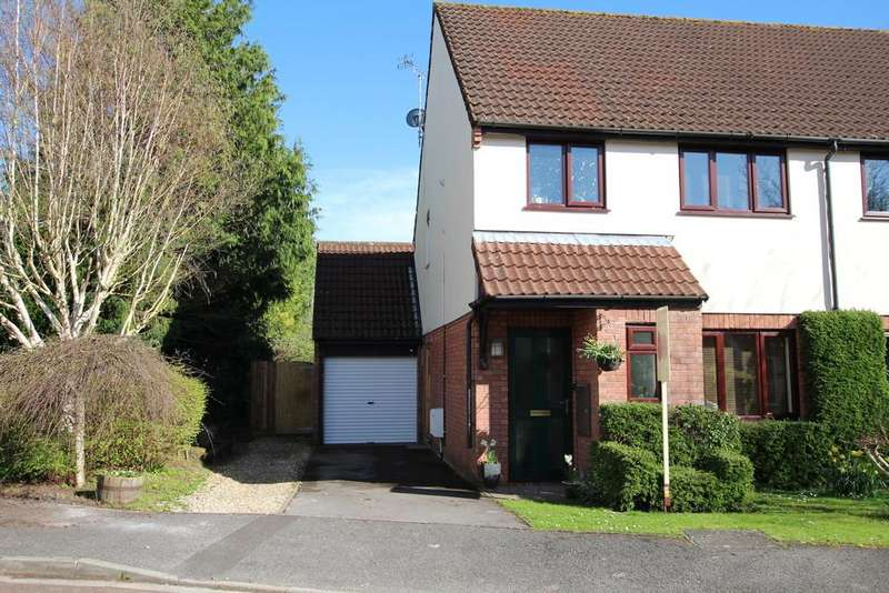 3 Bedrooms Semi Detached House for sale in The Glebe, Wrington