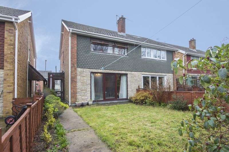 3 Bedrooms Semi Detached House for sale in Overdale Walk, Newport