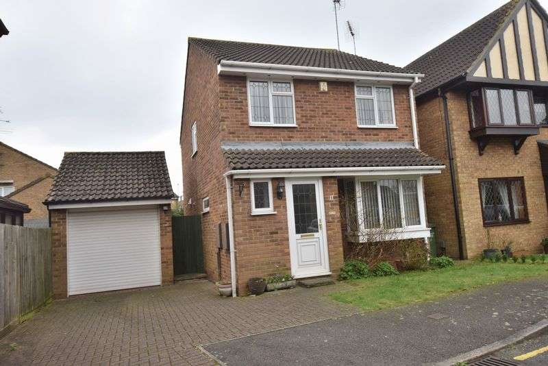 3 Bedrooms Detached House for sale in Linacres, Luton
