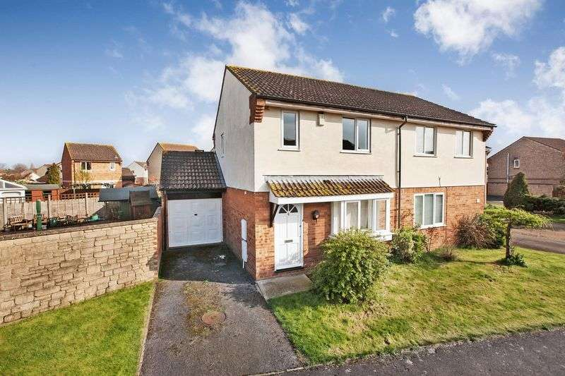 3 Bedrooms Semi Detached House for sale in Shellthorn Grove, Bridgwater