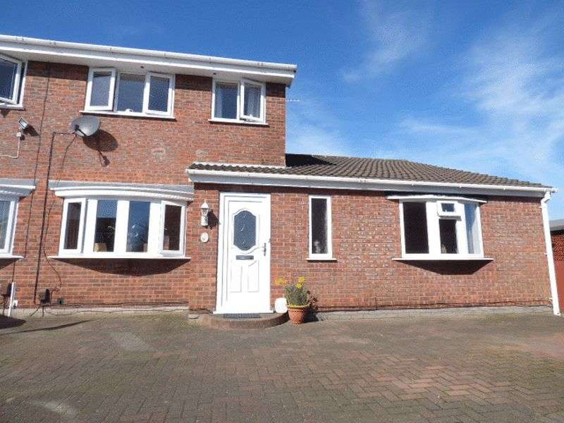 4 Bedrooms Semi Detached House for sale in Aragon Close, Liverpool