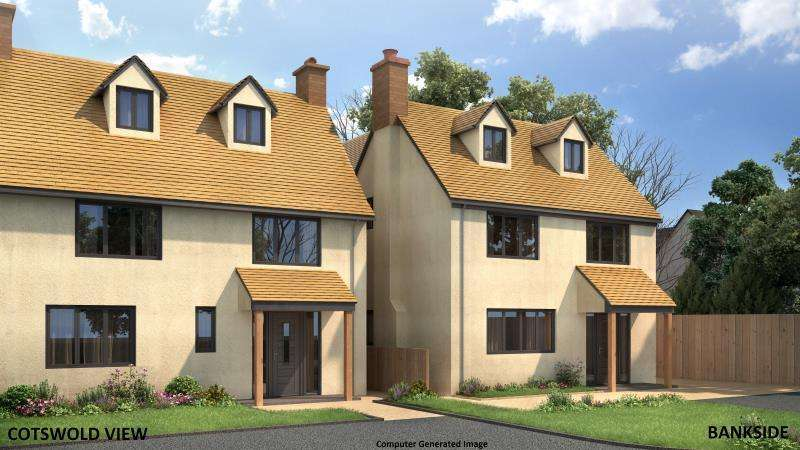 4 Bedrooms Semi Detached House for sale in Cotswold View, Pond Hill, Stonesfield, Witney