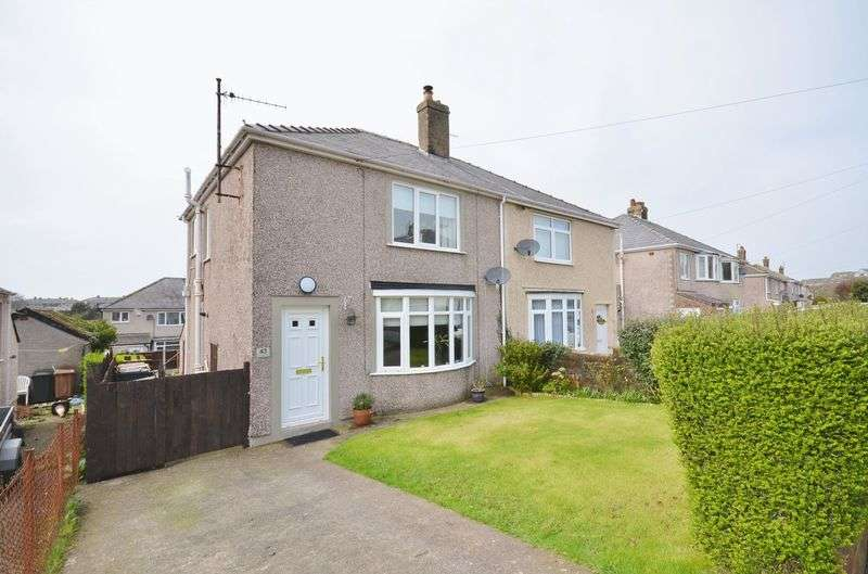 2 Bedrooms Semi Detached House for sale in Coronation Drive, Whitehaven