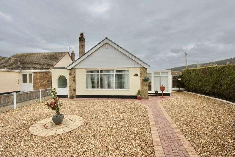 2 Bedrooms Detached Bungalow for sale in Ffordd Penrhwylfa, Prestatyn
