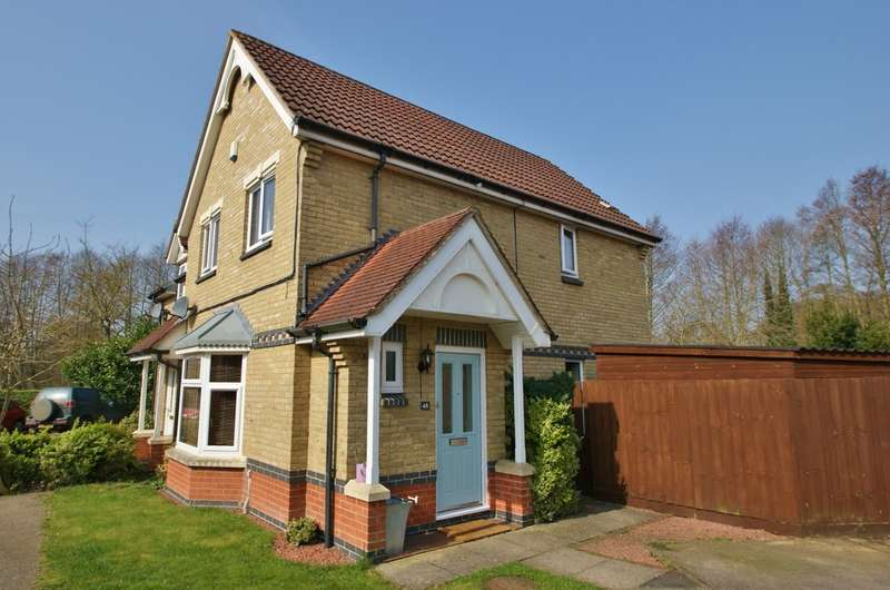 3 Bedrooms Semi Detached House for sale in Barleyfield Road, Horsford, Norwich