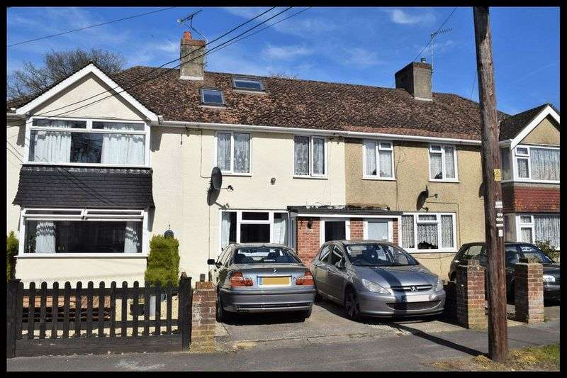 2 Bedrooms Terraced House for sale in Ewell Way, Totton
