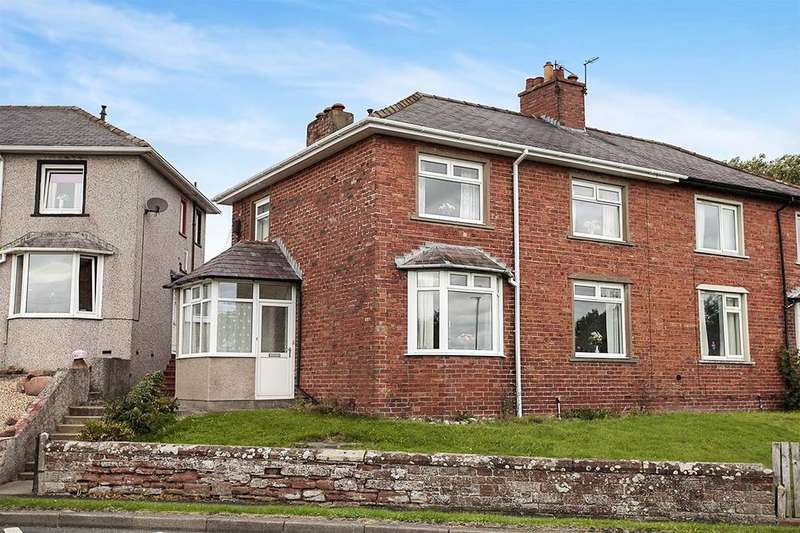 4 Bedrooms Semi Detached House for sale in Skiddaw View, Wigton, CA7