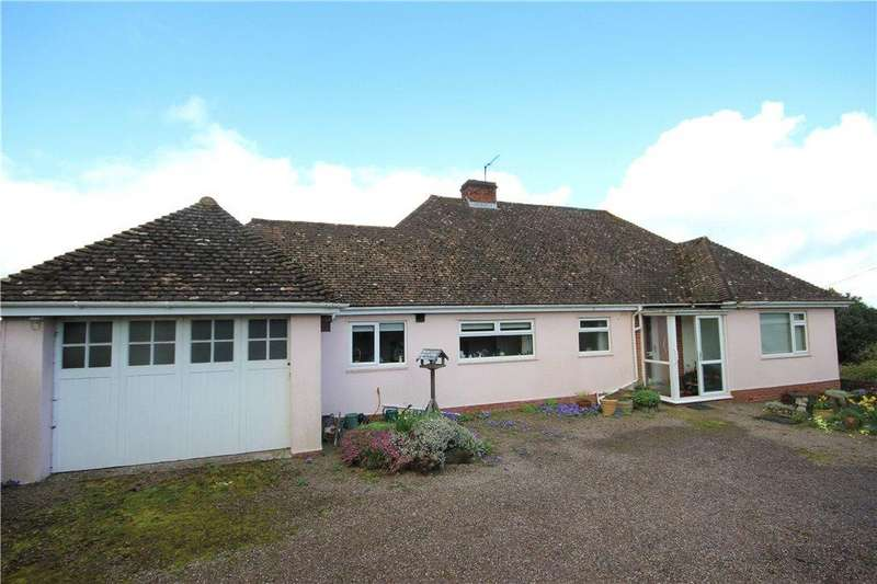 2 Bedrooms Detached Bungalow for sale in Kingsthorne, Hereford, HR2