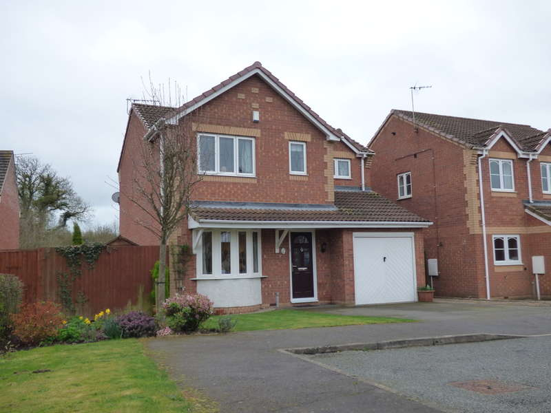 4 Bedrooms Detached House for sale in Hextall Drive, Ibstock