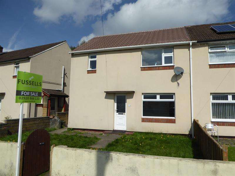 3 Bedrooms Semi Detached House for sale in Llanfabon Drive, Trethomas, Caerphilly