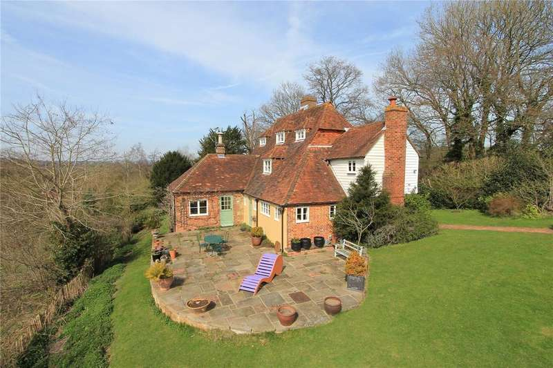 4 Bedrooms Detached House for sale in Poundsbridge, Penshurst, Tonbridge, Kent, TN11