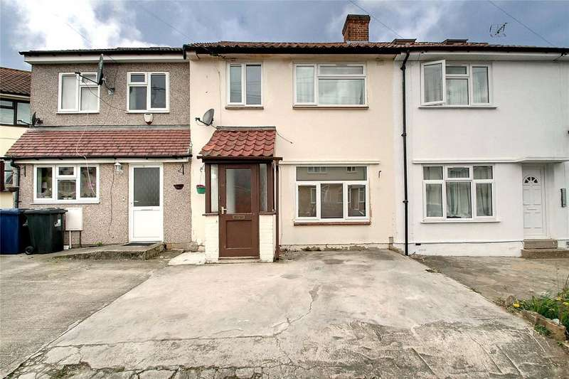 3 Bedrooms Terraced House for sale in Allenby Close, Greenford, UB6