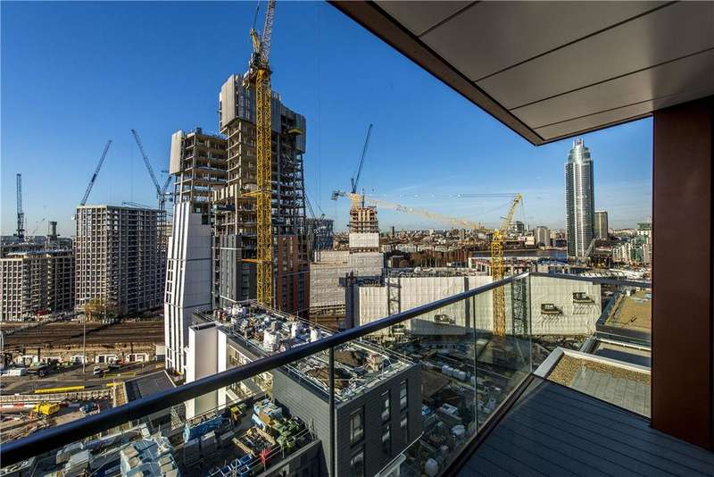 2 Bedrooms Apartment Flat for sale in Pinto Tower, 4 Hebden Place, London, SW8
