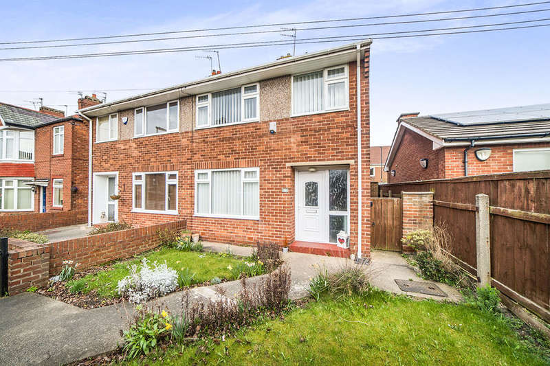 3 Bedrooms Semi Detached House for sale in Closefield Grove, Monkseaton , Whitley Bay, NE25