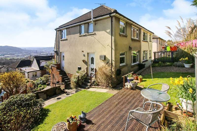 3 Bedrooms Semi Detached House for sale in Carr Grove, Riddlesden, Keighley, BD20
