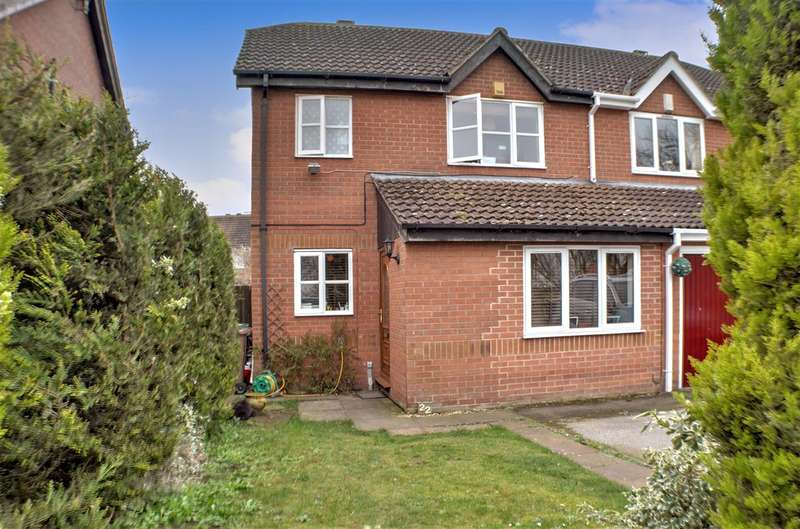 3 Bedrooms Semi Detached House for sale in Beck Close, Ruskington