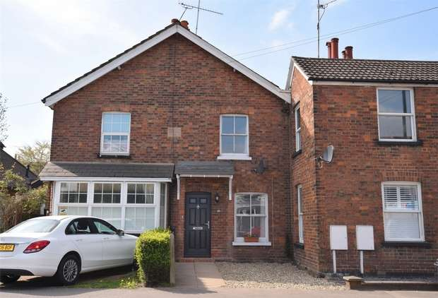 2 Bedrooms Semi Detached House for sale in 65 London Road, Riverhead, Kent