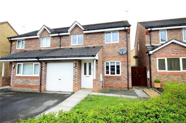 3 Bedrooms Semi Detached House for sale in Viscount Evan Drive, NEWPORT