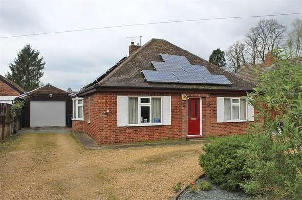 2 Bedrooms Detached Bungalow for sale in Wimblington Road, March, Cambridgeshire