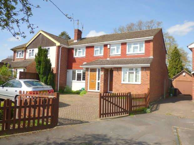 4 Bedrooms Semi Detached House for sale in Old Farm Crescent, Tilehurst, Reading