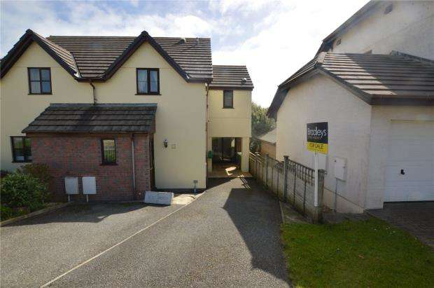 3 Bedrooms Semi Detached House for sale in Forth An Tewennow, Phillack, Hayle, Cornwall
