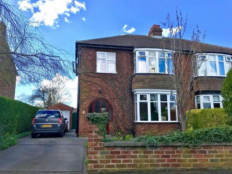 3 Bedrooms Semi Detached House for sale in The Crescent, Eaglescliffe, Stockton-on-Tees