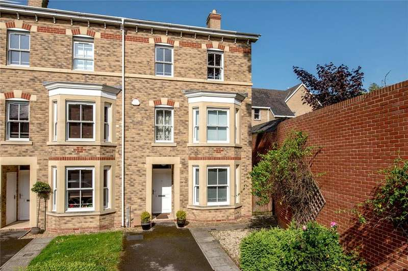 4 Bedrooms End Of Terrace House for sale in White Willow Gardens, Staplegrove Road, Taunton, Somerset