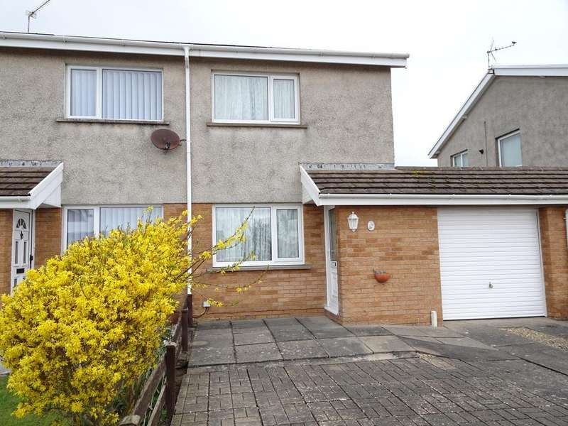 2 Bedrooms Semi Detached House for sale in ANGLESEY WAY, NOTTAGE, PORTHCAWL, CF36 3QP