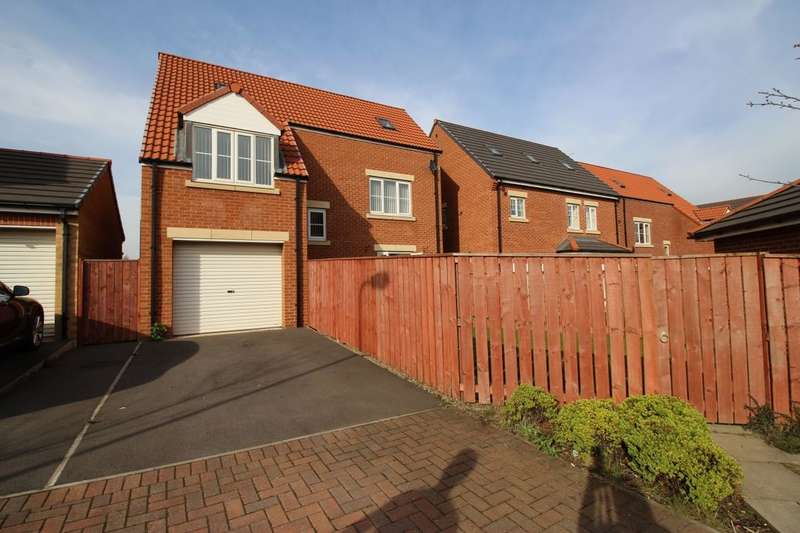 4 Bedrooms Detached House for sale in Ashmore Gardens, Stockton-On-Tees, TS18