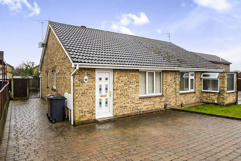 2 Bedrooms Semi Detached Bungalow for sale in Emsworth Close, Ilkeston, DE7