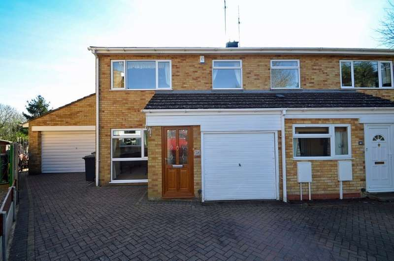 3 Bedrooms Semi Detached House for sale in Eastwood Grove, Hillmorton, Rugby