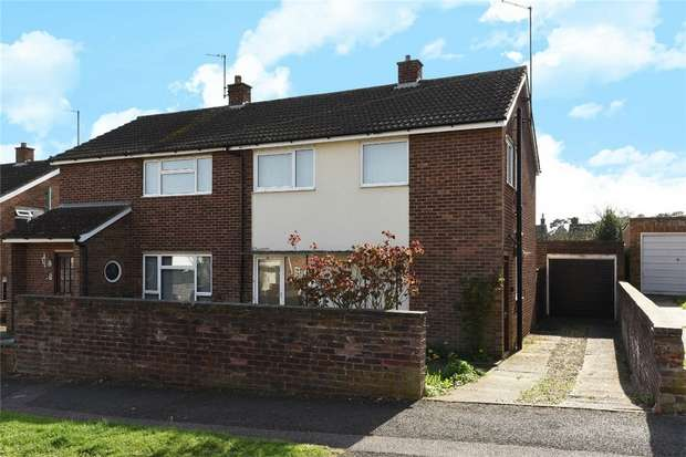 3 Bedrooms Semi Detached House for sale in Pipit Rise, Bedford