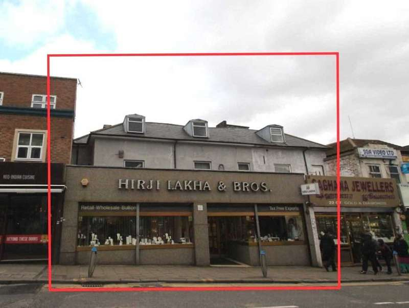 Retail Property (high Street) Commercial for sale in Ealing Road, Wembley, HAO