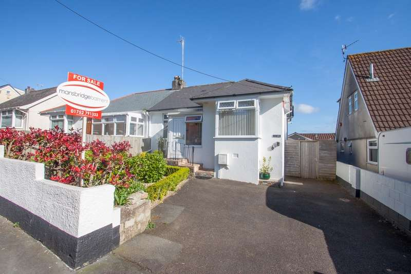 2 Bedrooms Semi Detached Bungalow for sale in Glenholt, Plymouth