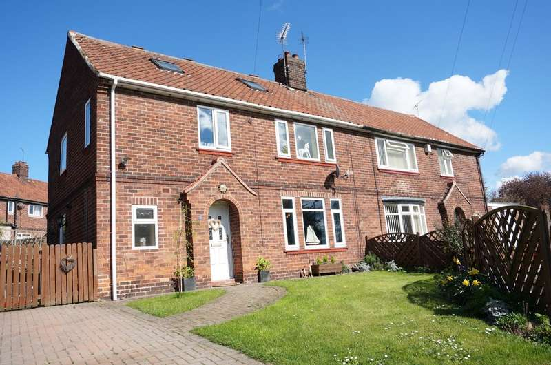 4 Bedrooms Semi Detached House for sale in Grange Crescent, Tadcaster