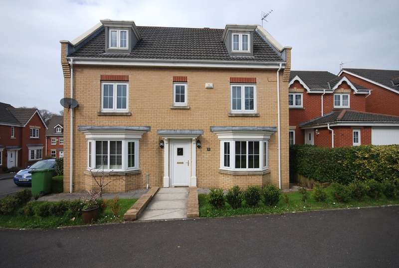 5 Bedrooms Detached House for sale in Bryn Dewi Sant, Miskin, Rhondda Cynon Taff, Cf72 8TJ