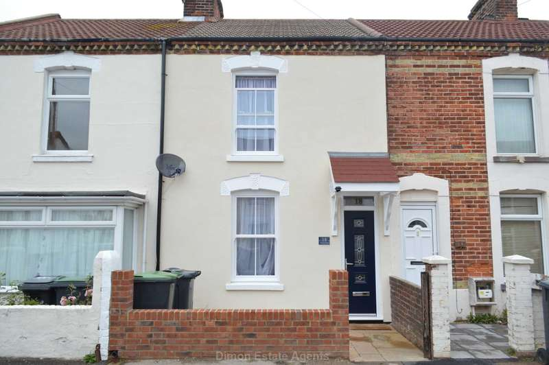 2 Bedrooms Terraced House for sale in Vernon Road, Gosport