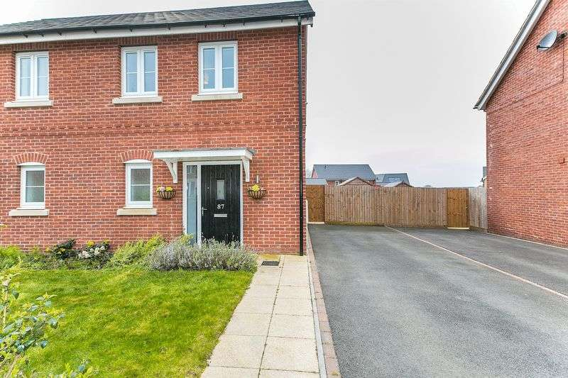 2 Bedrooms Semi Detached House for sale in Rowditch Furlong, Milton Keynes