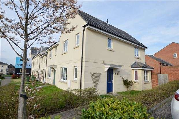 3 Bedrooms End Of Terrace House for sale in Drybrook Walk, CHELTENHAM, Gloucestershire, GL52 5FR