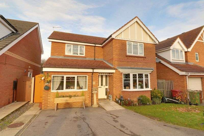 4 Bedrooms Detached House for sale in Woodpecker Way, Kirton Lindsey