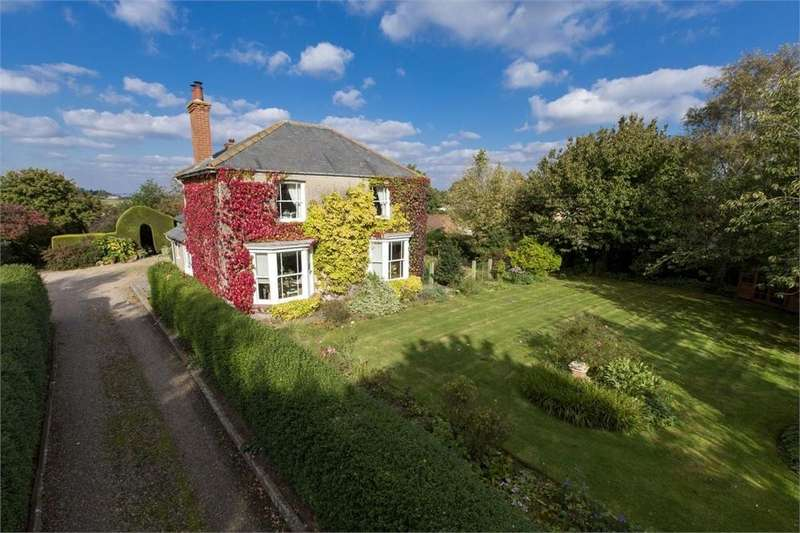 4 Bedrooms Detached House for sale in Main Road, Wrangle, Boston, Lincolnshire