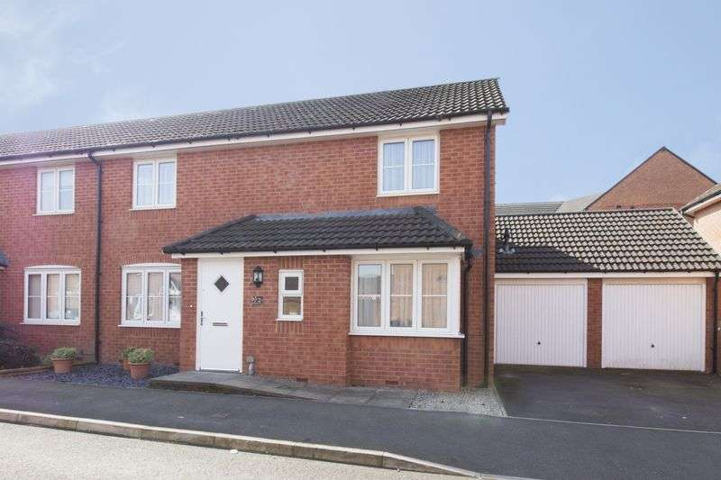 3 Bedrooms Semi Detached House for sale in Seabreeze Crescent, Newport