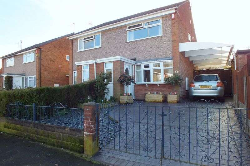 2 Bedrooms Semi Detached House for sale in Catharine Road, Chell Heath, Stoke-On-Trent