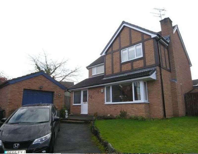 4 Bedrooms Detached House for sale in Lupin Drive, Huntington, Chester, CH3 6SD
