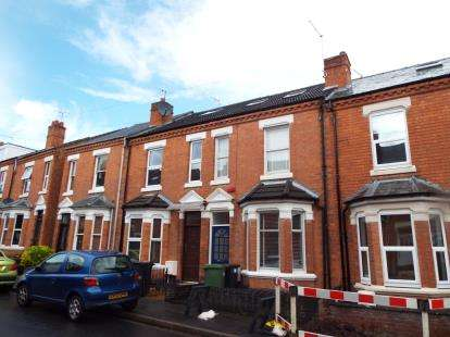 2 Bedrooms Terraced House for sale in St. Dunstans Crescent, Worcester, Worcestershire